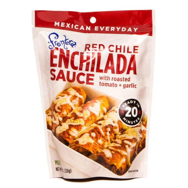 Frontera Red Chile Enchilada Sauce With Roasted Tomato + Garlic