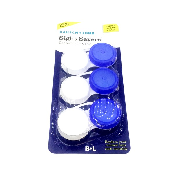 Bausch & Lomb Contact Lens Cases, Extra Value