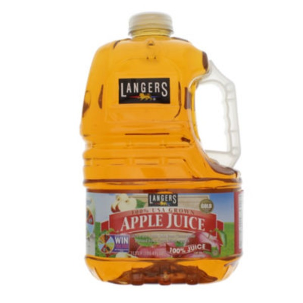 Langers 100% Juice, Apple