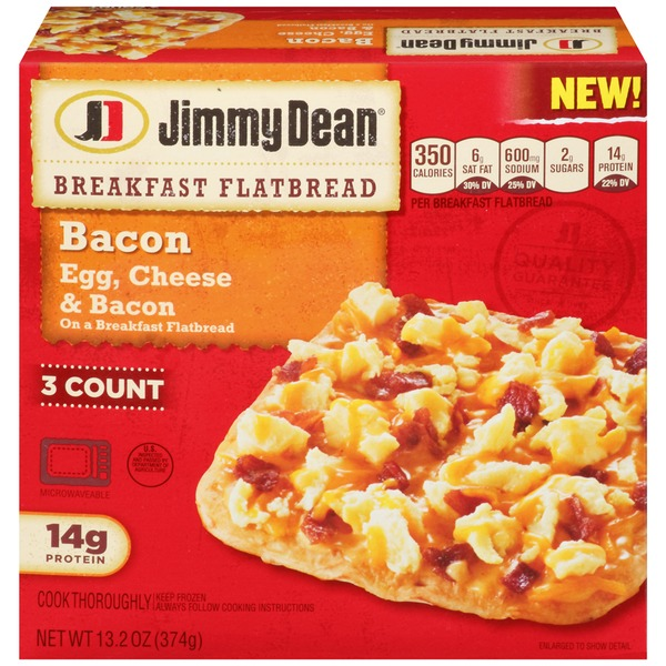 Jimmy Dean Bacon Breakfast Flatbread