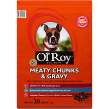 Ol' Roy Meaty Chunks & Gravy Dog Food