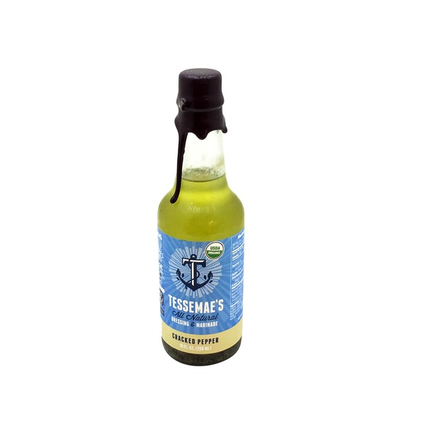 Tessemae's All Natural Organic Cracked Pepper Dressing