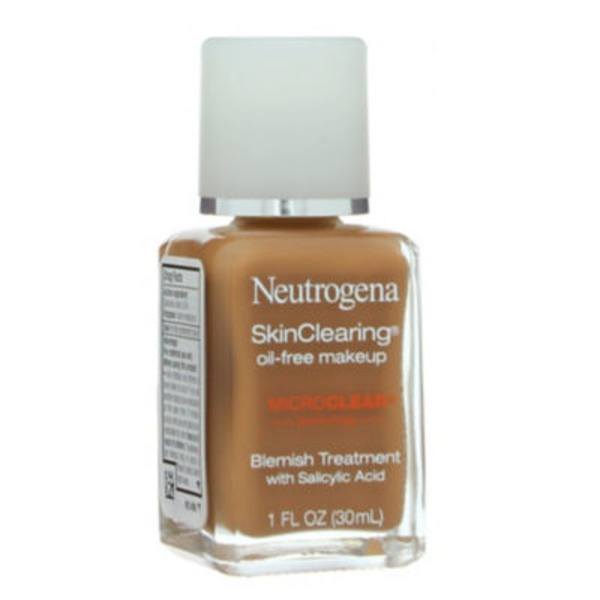 Neutrogena® Oil-Free Chestnut 135 Skin Clearing Foundation