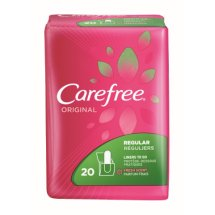 Carefree Original Regular To Go Fresh Scent Pantiliners, 20 ct