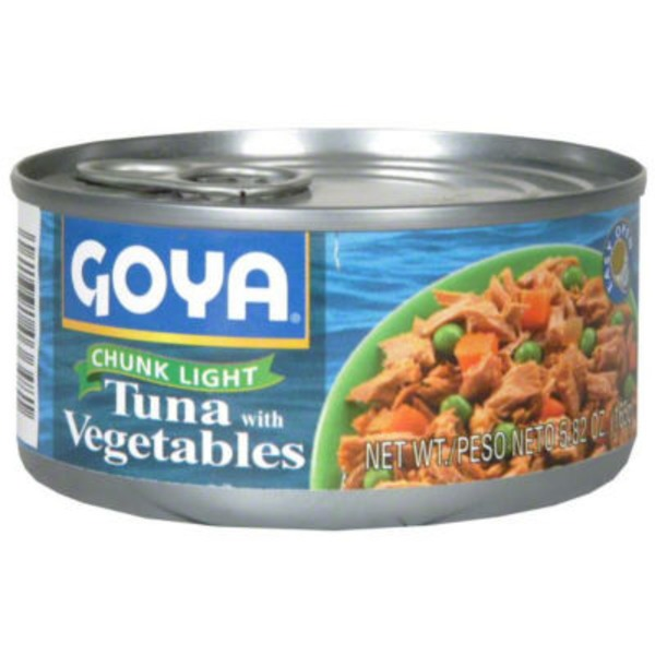 Goya Chunk Light Tuna With Vegetables