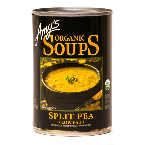 Amy's Low Fat Split Pea Soup