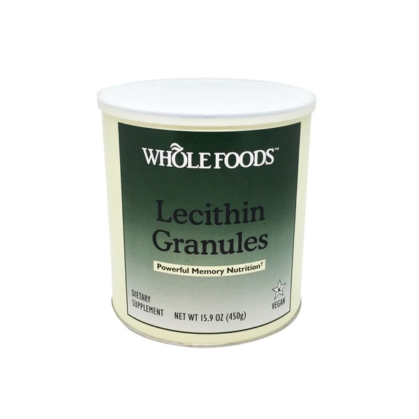 Whole Foods Market Lecithin Granules Dietary Supplement