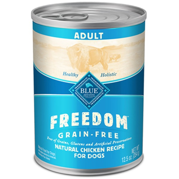 Blue Buffalo Freedom Grain-Free Natural Chicken Recipe for Dogs,  Adult