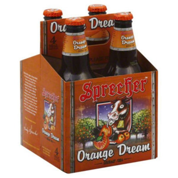 Sprecher Soda, Orange Dream