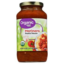 Great Value Organic Marinara Pasta Sauce, 23.5 oz