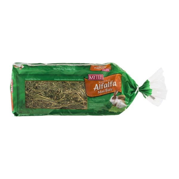 Kaytee Natural Alfalfa Mini-Bale