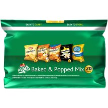 Frito-Lay 2Go Baked and Popped Mix Variety Pack, 0.50 Oz - 1 Oz, 20 Ct