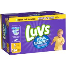 Luvs Super Absorbent Leakguards Diapers (Choose Size and Count)