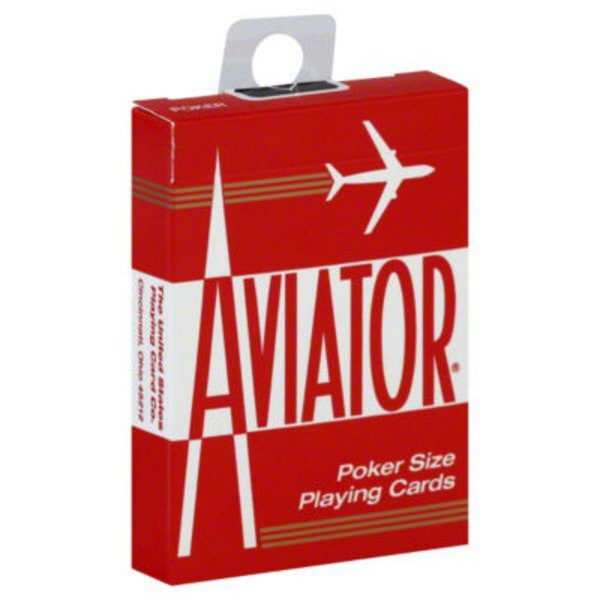 Aviator Playing Cards, Poker Size 914