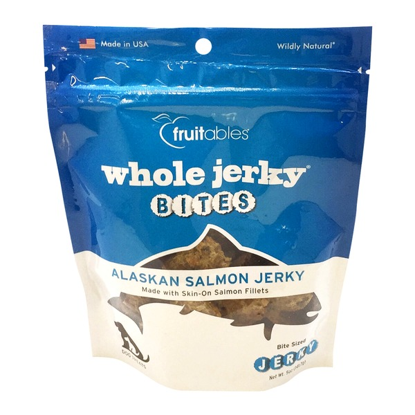 Fruitables Alaska Salmon Jerky Dog Treats