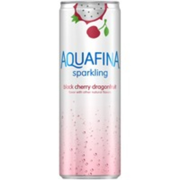 Aquafina Sparkling Black Cherry Dragonfruit Sparkling Water Beverage