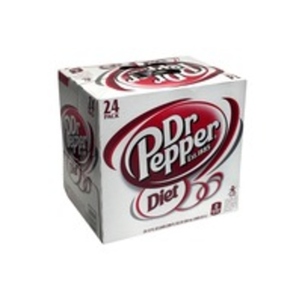 Dr. Pepper Diet Soda Can