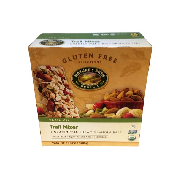Nature's Path Organic Trail Mixer Gluten Free Chewy Granola Bars