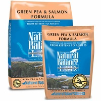 Natural Balance Limited Ingredient Diets Green Pea & Salmon Formula Dry Cat Food