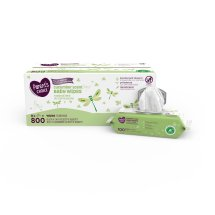 Parent's Choice Cucumber Scent Baby Wipes, 8 packs of 100 (800 ct)
