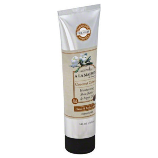 A La Maison Lotion Hand/Body Coconut Creme
