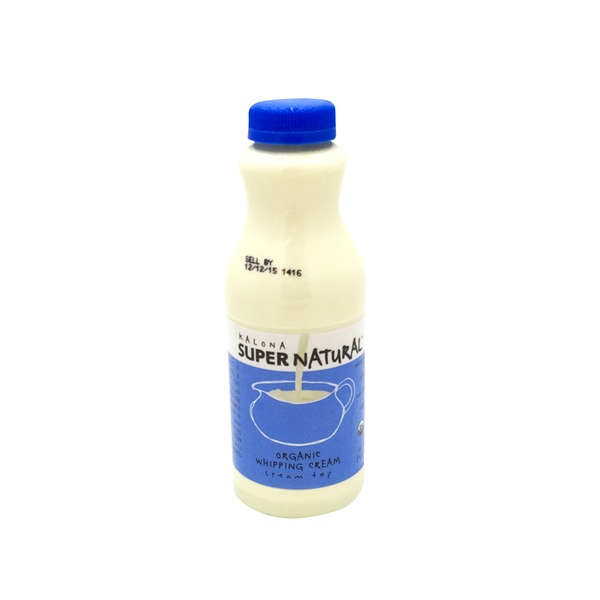 Kalona Super Natural Organic Whipping Cream