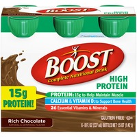 Boost High Protein Rich Chocolate Complete Nutritional Drink