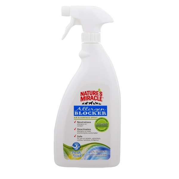Nature's Miracle Allergen Blocker Air & Surface Spray 32 Fl. Oz.