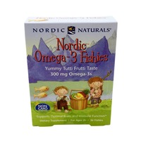 Nordic Naturals Nordic Omega-3 Fishies 300 mg Chewables