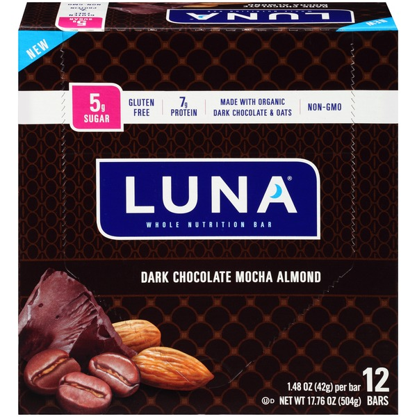 Luna® Dark Chocolate Mocha Almond Nutrition Bars