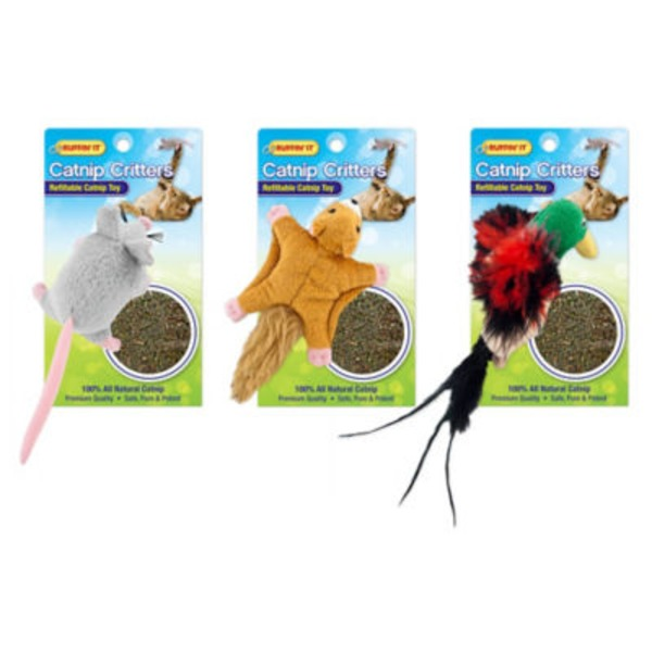 Westminster Pet Products Refillable Catnip Critters
