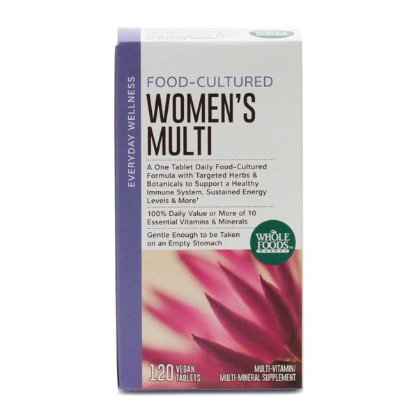 Whole Foods Market Women's Multivitamin Vegan Tablets