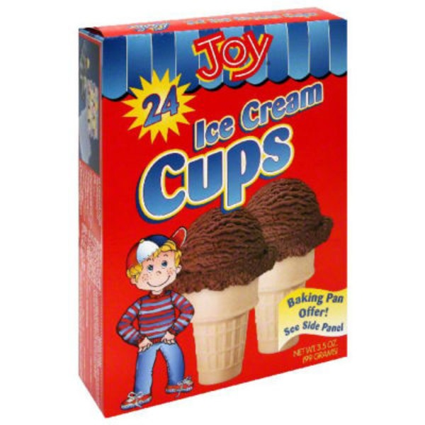 Joy Ice Cream Cups - 24 CT
