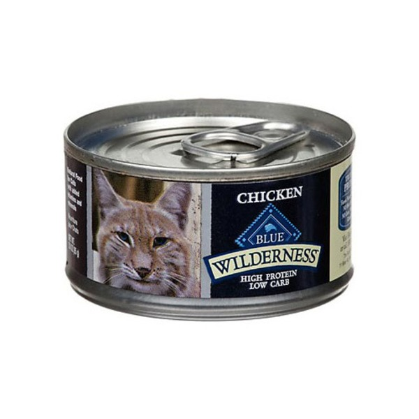 Blue Buffalo Wilderness Chicken Canned Cat Food