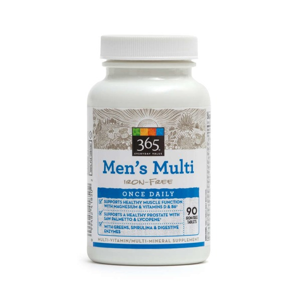 365 Men's Multivitamin Once Daily