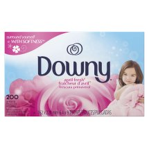 Downy April Fresh Fabric Softener Dryer Sheets, 200 count