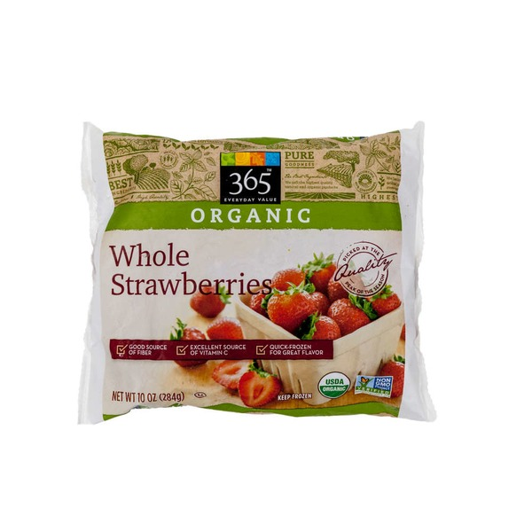 365 Organic Whole Strawberries