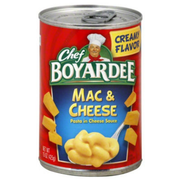Chef Boyardee Pasta in Cheese Sauce Mac & Cheese