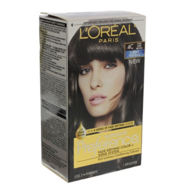Superior Preference Cools Anti-Brass 4C Cool Dark Brown Hair Color