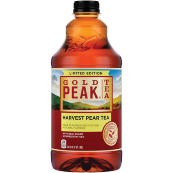 Gold Peak Harvest Pear Limited Edition Iced Tea