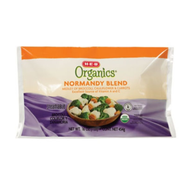 H-E-B Organics Steamable Normandy Blend