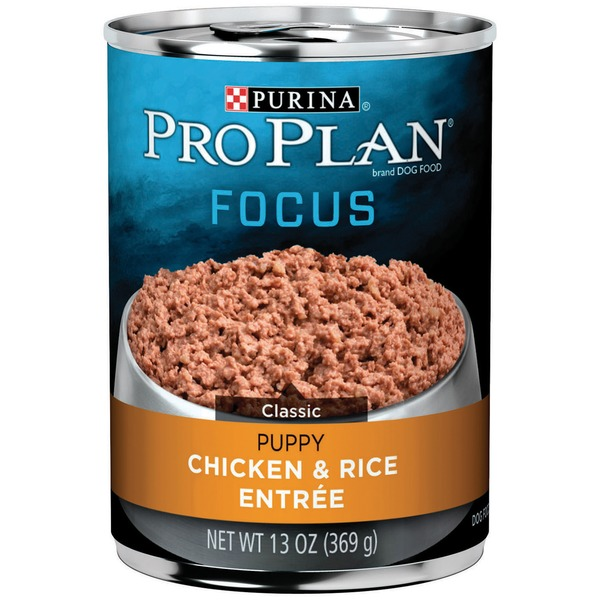 Pro Plan Dog Wet Focus Puppy Chicken & Rice Entree Classic Dog Food