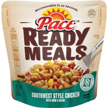 Pace® Ready Meals Southwest Style Chicken with Corn & Beans, 9 oz., 9.0 OZ