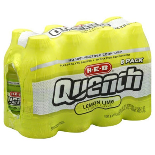 H-E-B Quench Lemon Lime Drink
