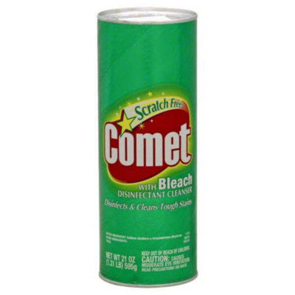 Comet Cleanser with Bleach, Scratch Free