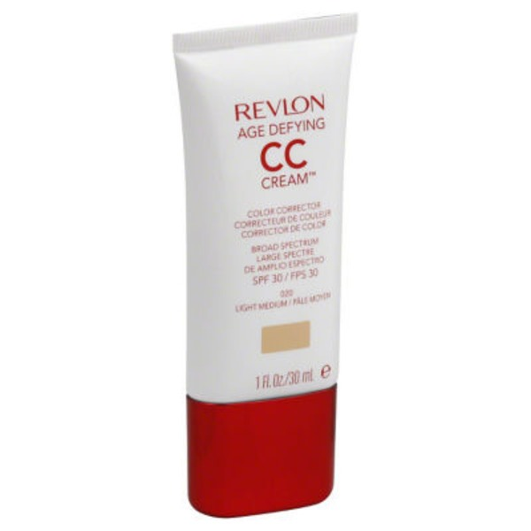 Revlon CC Cream, Color Corrector, Broad Spectrum SPF 30, Light Medium 020