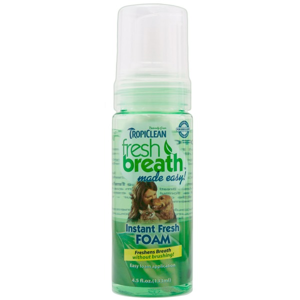 Tropiclean Instant Fresh Foam, Bottle