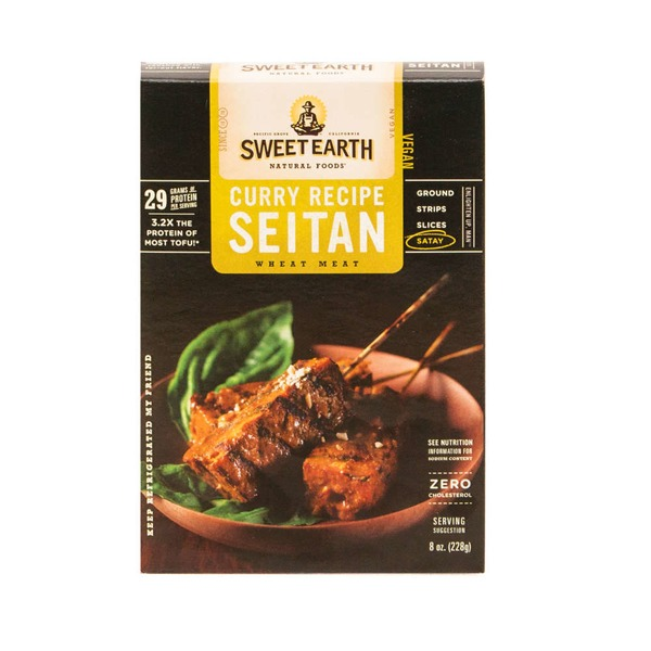 Sweet Earth Curry Recipe Seitan