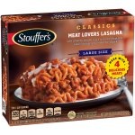 STOUFFER'S Large Size Meat Lovers Lasagna 18 oz. Box