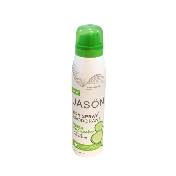 Jason Natural Fresh Cucumber Deodorant Spray